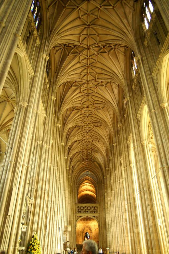 Canterbury Cathedral Gothic Architecture