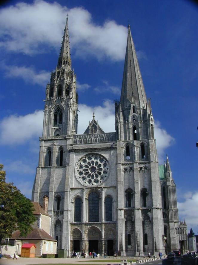 Chartres Cathedral Gothic Architecture