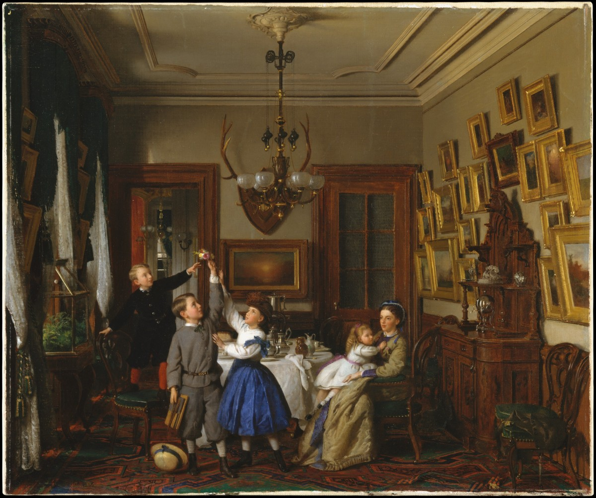 Morgan Library Dining Room: How To Enjoy Art From The Comfort Of Your Home