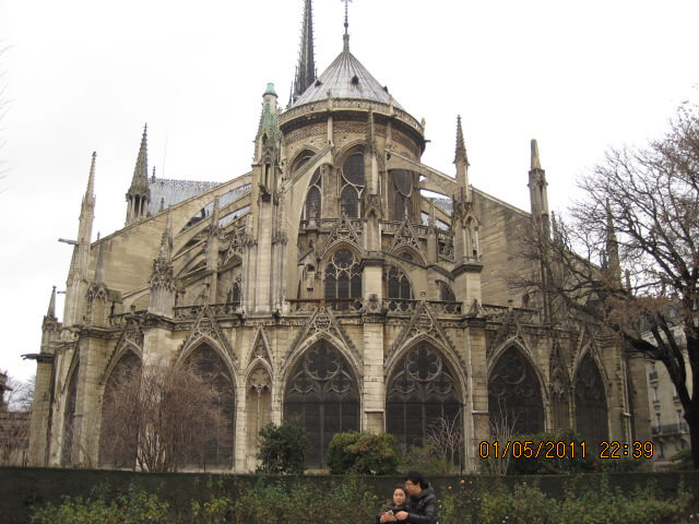 Notre Dame in Paris Gothic Architecture