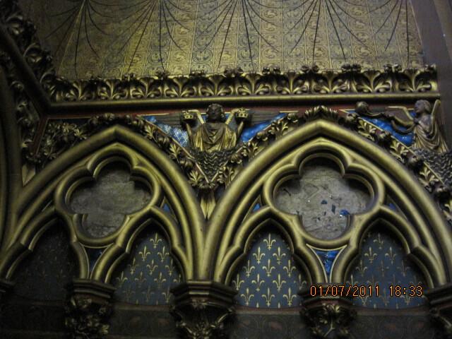 Sainte Chapelle in Paris Gothic Architecture