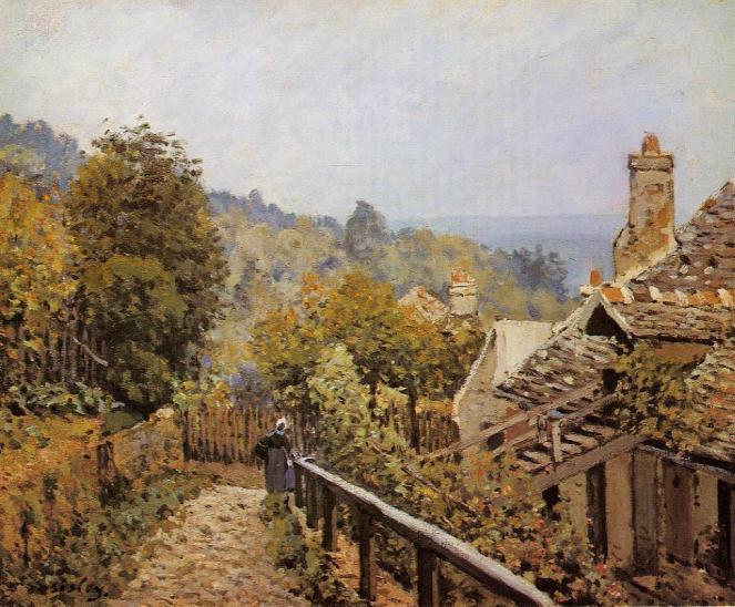 Sentier de la Mi-Cote by Alfred Sisley
