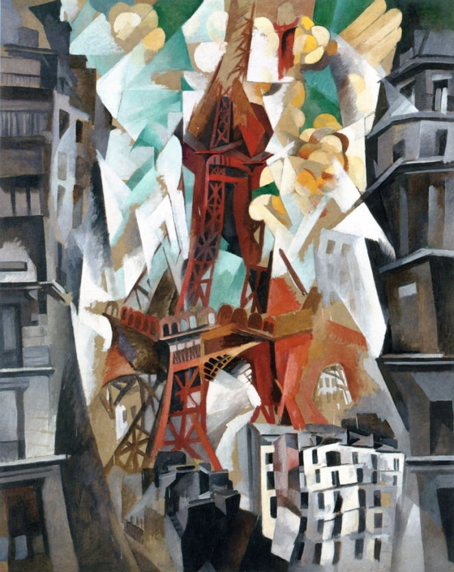 Champ de Mars: The Red Tower by Robert Delaunay
