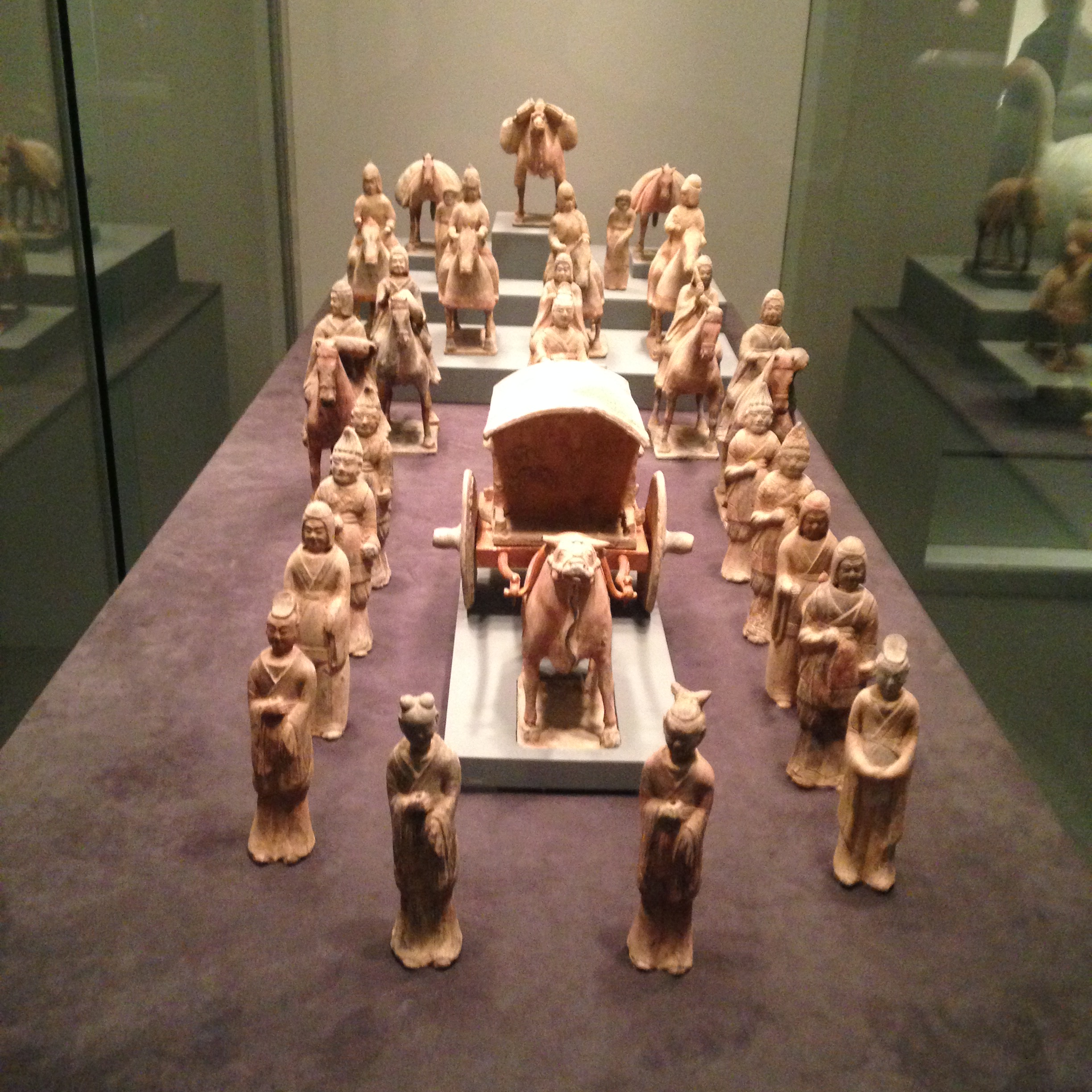 Chinese tomb figures