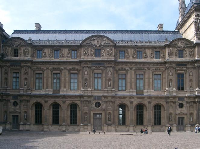 Aile Lescot, Cour Carrée, Louvre