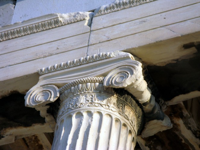 Classical Greek architecture Ionic capital