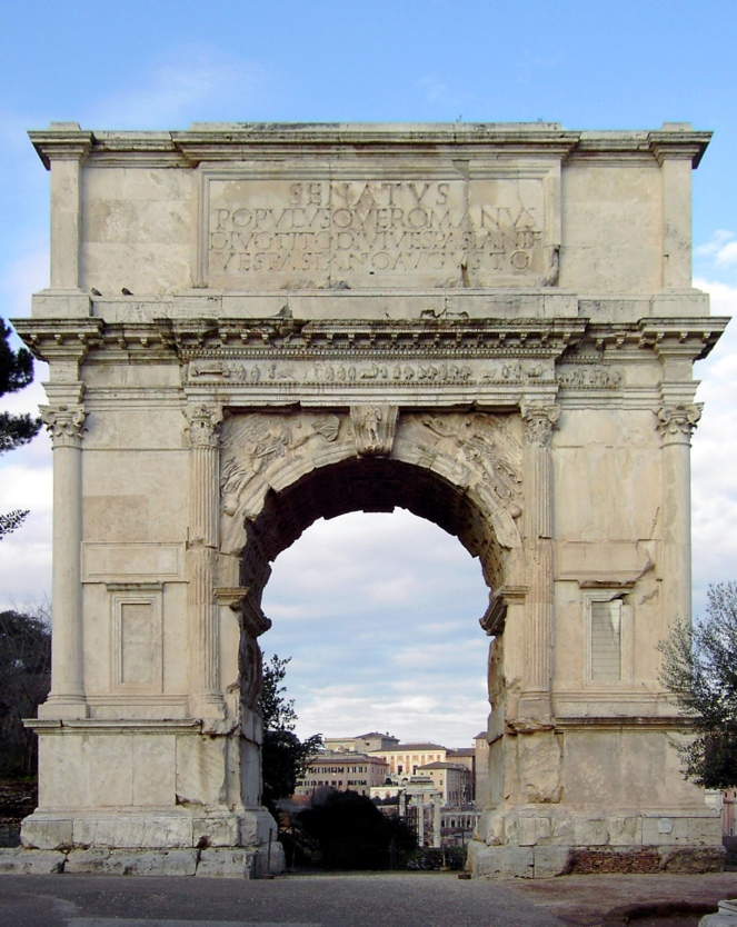 Arch of Titus Classical Roman Architecture