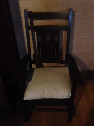 Stickley Museum at Craftsman Farms chair