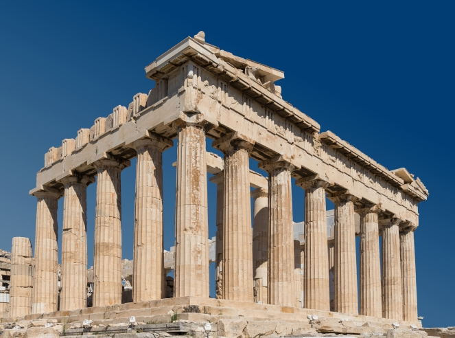 Classical Greek Architecture Parthenon Athens
