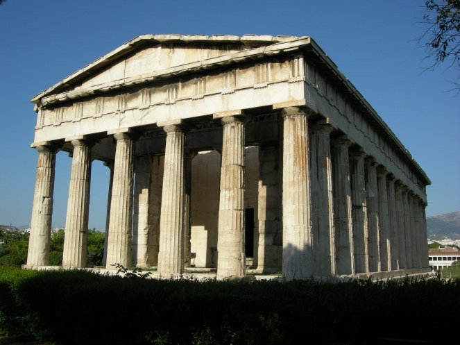 Classical Greek architecture Temple of Hephaestus