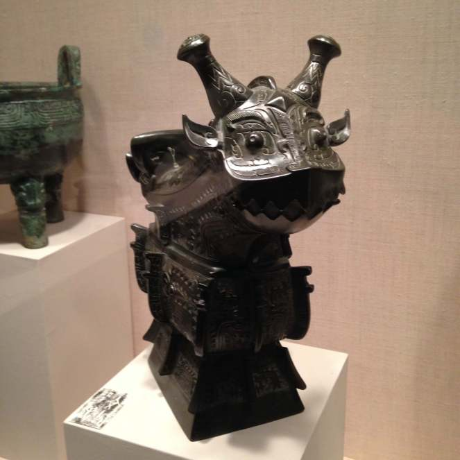 Chinese bronze dragon myths about art history