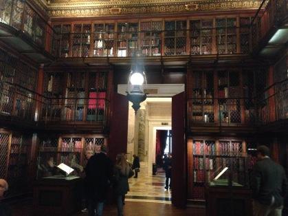 Morgan Library & Museum original library