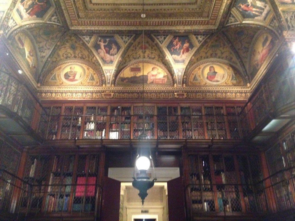 Morgan Library & Museum original library