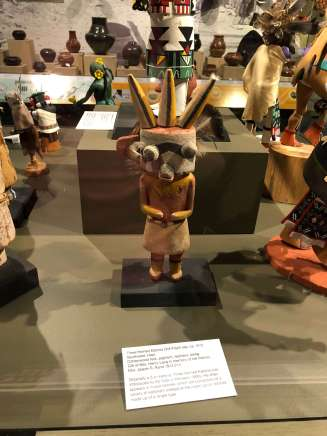 Three Horned Katsina Doll Montclair Art Museum
