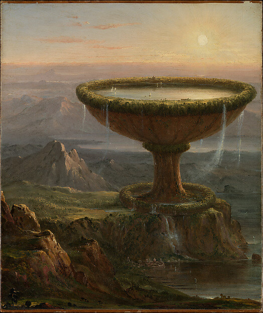Titan's Goblet Thomas Cole's Journey: Atlantic Crossings