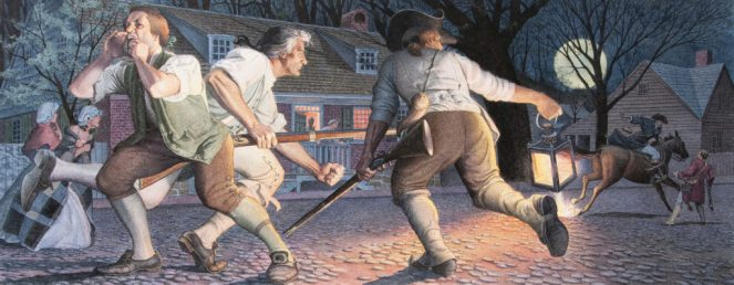 Charles Santore Paul Revere's Ride