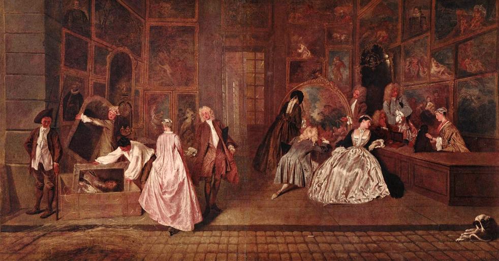 Gersaint's Shopsign by Watteau