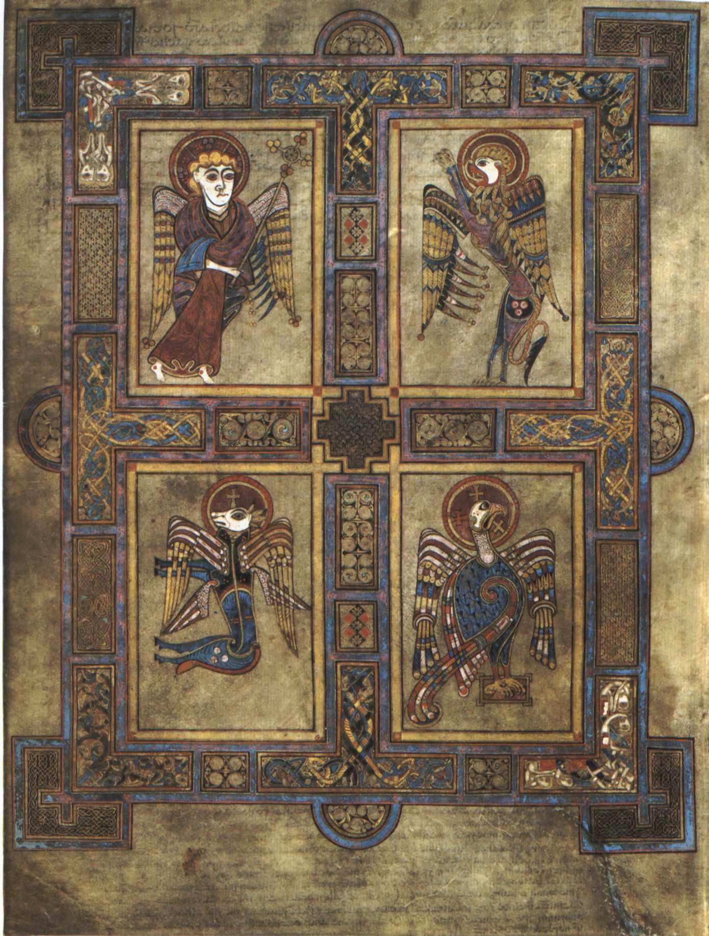 Book of Kells Evangelists