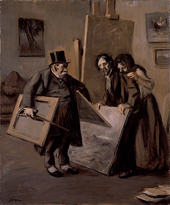 The Picture Dealer by Jean-Louis Forain