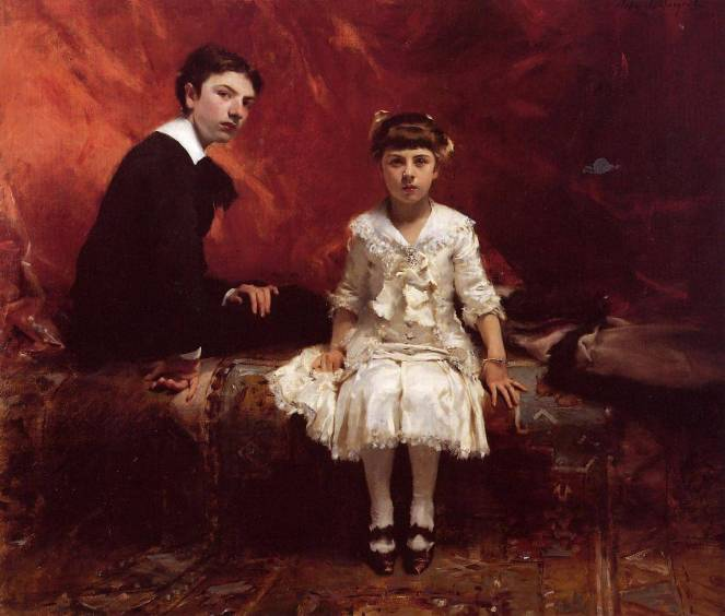 Edouard and Marie-Louise Pailleron by John Singer Sargent
