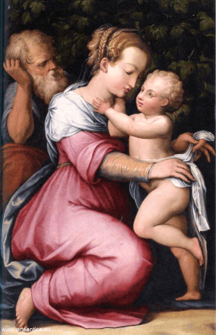 Holy Family by Giorgio Vasari