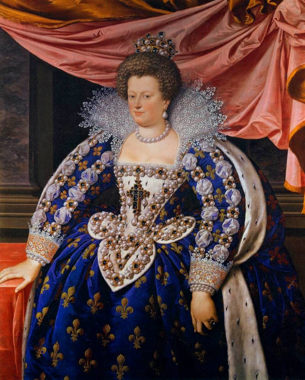 Marie de' Medici by Frans Pourbus the Younger erudite
