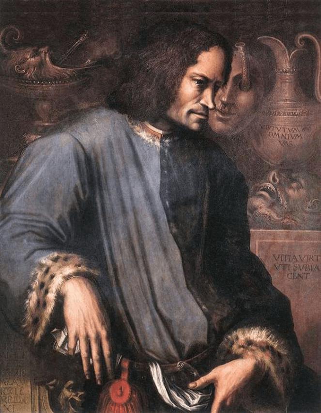 Portrait of Lorenzo the Magnificent by Giorgio Vasari