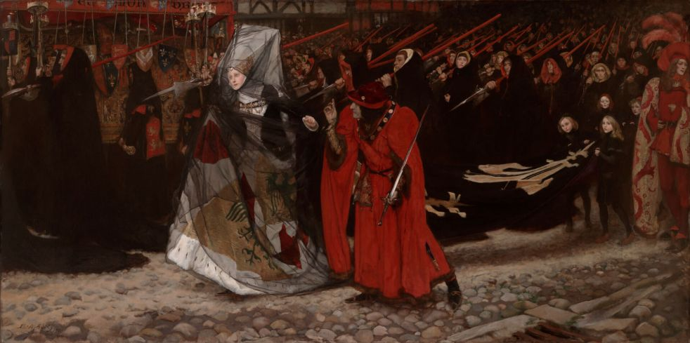 Richard III by Edwin Austin Abbey