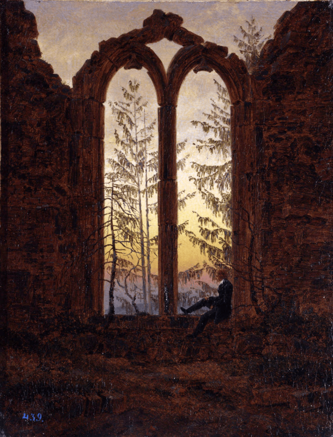 The Dreamer by Caspar David Friedrich