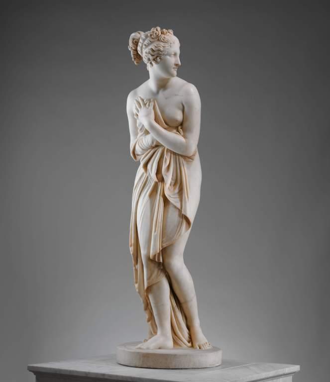 Venus Italica by Antonio Canova mimesis