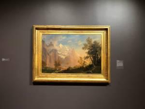 Albert Bierstadt the Romance of the Mountains