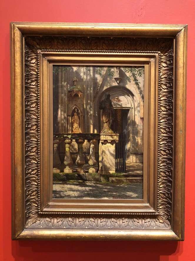 Bierstadt Sunlight and Shadow: Study