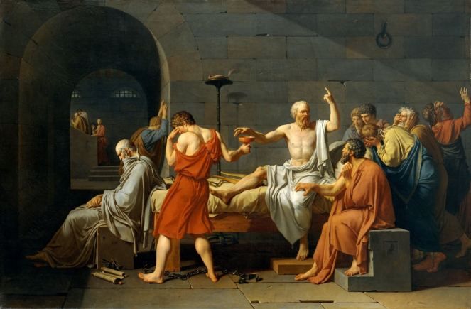 Jacques-Louis David what is history painting