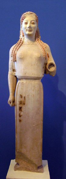 Peplos Kore ancient Greek sculpture
