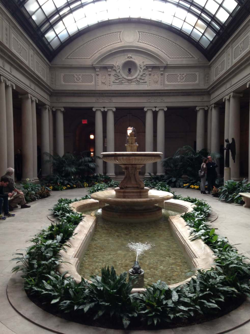 Frick Collection Garden Court