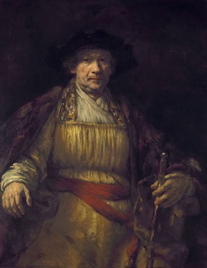 Rembrandt Self-Portrait Frick Collection