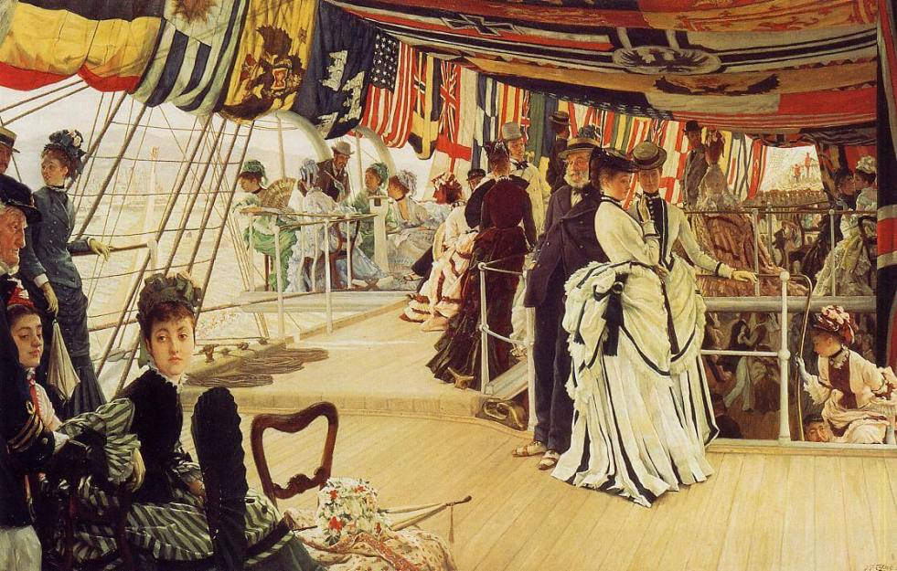 Tissot The Ball on Shipboard what is a genre painting