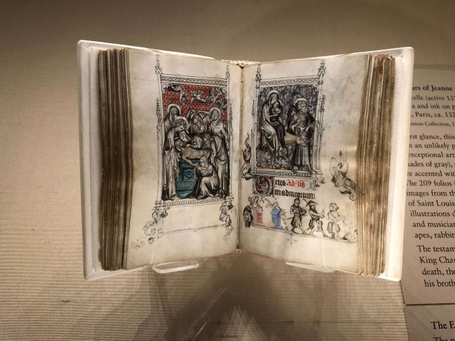 Hours of Jeanne d'Evreux at the Cloisters