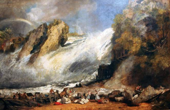 Turner Fall of the RHine at Schaffhausen