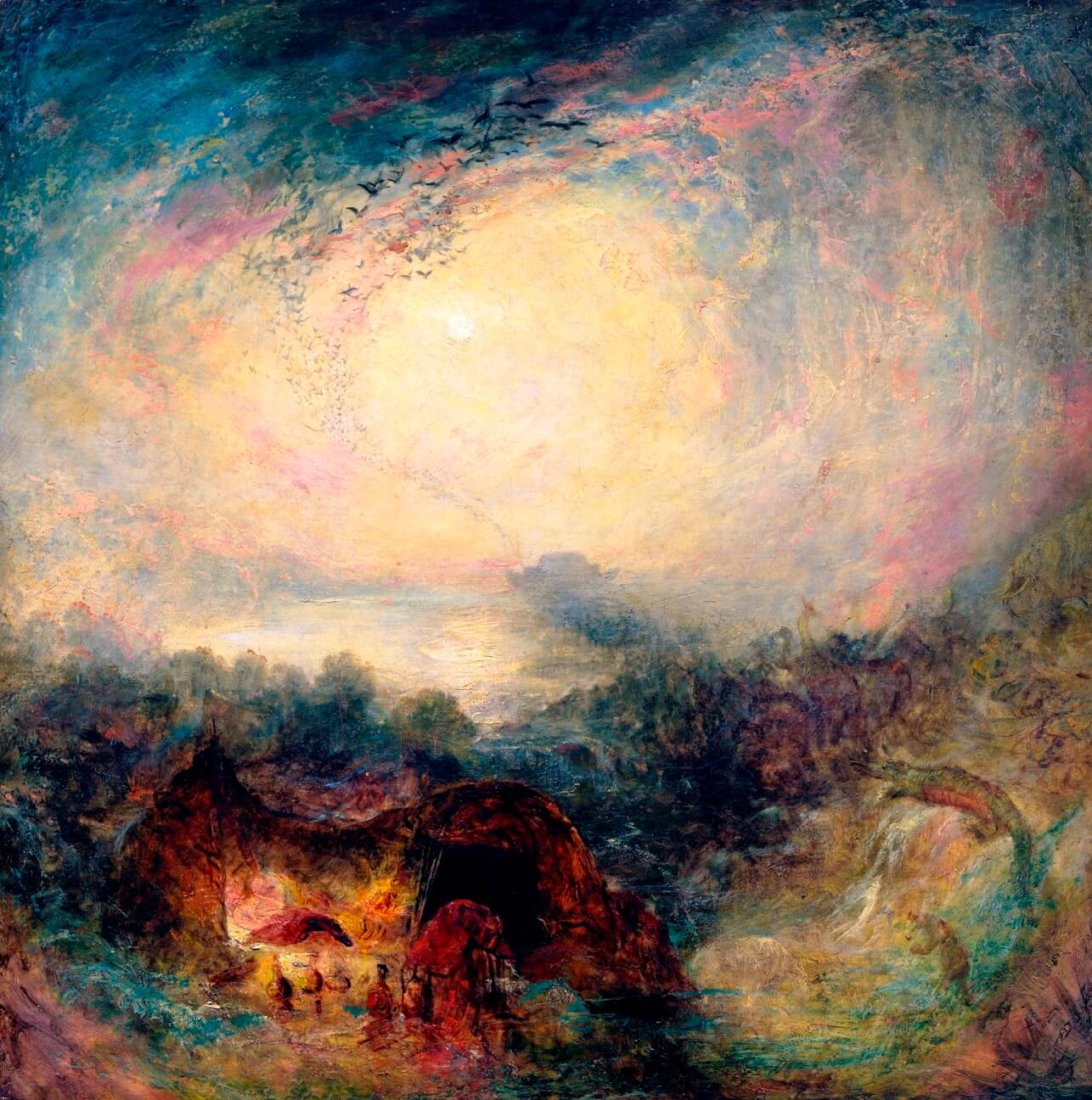 Turner The Evening of the Deluge