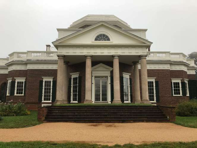 Thomas Jefferson Monticello facade