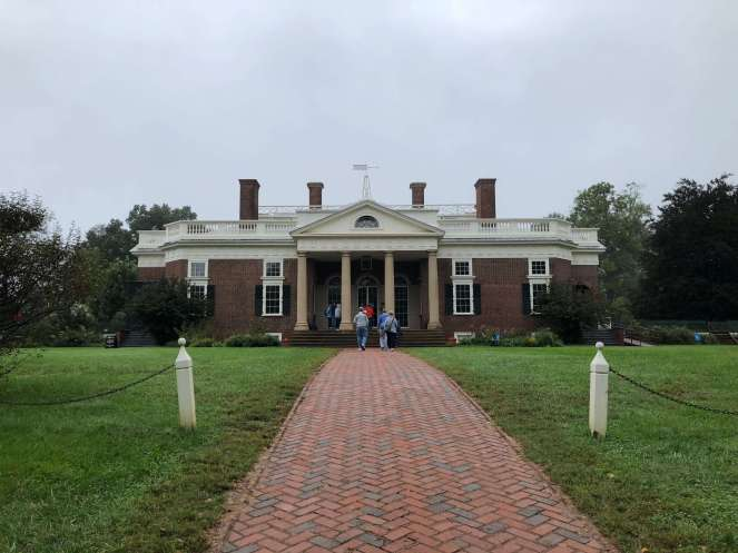 Thomas Jefferson Monticello front