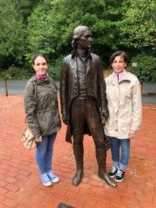 Thomas Jefferson statue Monticello
