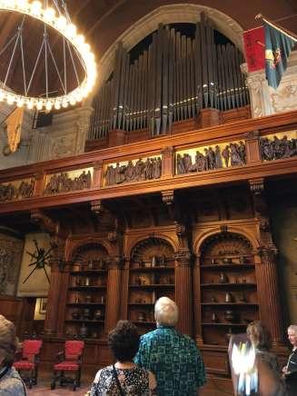 Biltmore Banquet Hall organ