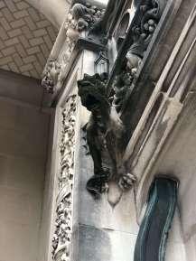 Gargoyles and grotesques at Biltmore