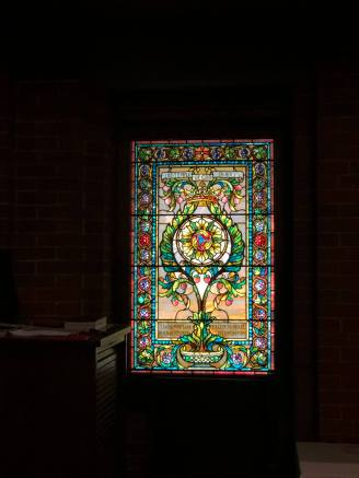 All Souls Biltmore Village stained glass