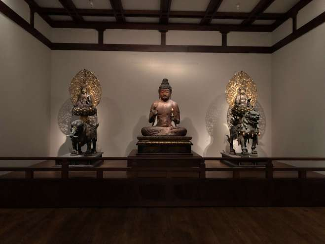 Virginia Museum of Fine Arts Buddhist statuary