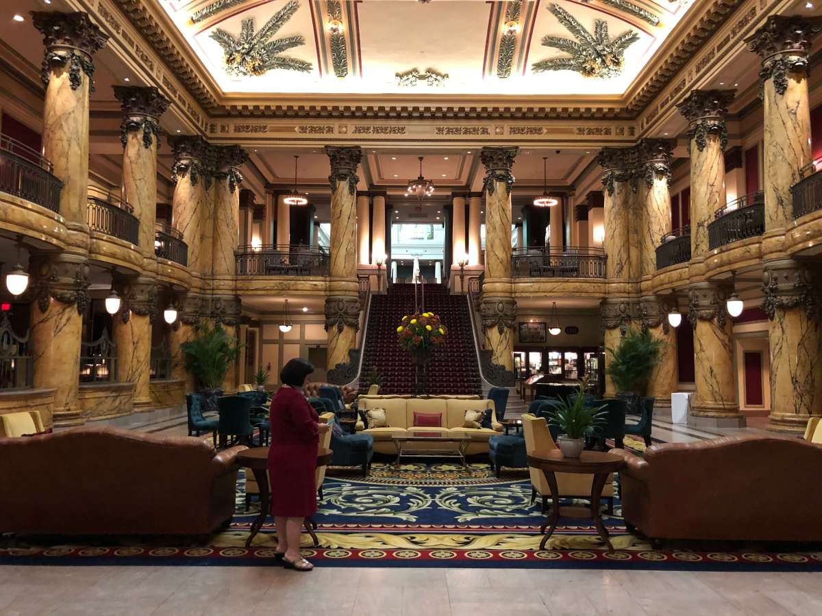 The Jefferson Hotel, Where Gators Once Roamed