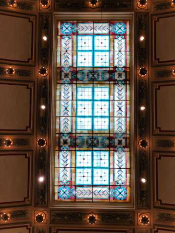 Jefferson Hotel stained glass