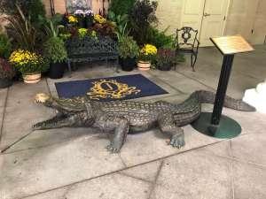 Jefferson Hotel alligators